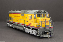 UP 2909 Bowser ALCO Century 630 (Engine Shed) Tags: railroad scale model railway trains hobby ho piszczek