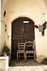 Matera (zane) Tags: street door chair sommer porta matera sedie