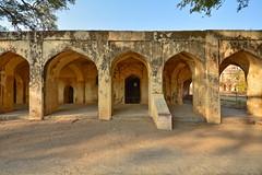India - Telangana - Hyderabad - Qutb Shahi Heritage Park - The Mortuary Bath Of Sultan Quli I - 2 (asienman) Tags: india hyderabad tombs telangana asienmanphotography qutbshahiheritagepark