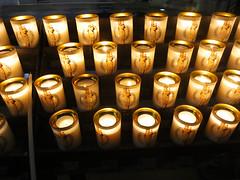 Happy Diwali (U A Satish) Tags: light paris france church candles indoor happydiwali notredamecathedrale uasatish httpuasatishcom