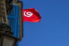 Tunis' Flag (Adri Pez) Tags: flag tunis tunisie nabeul tnez