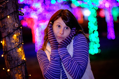 Innocent Laura (pixl8) Tags: laura christmaslights vitruvianlights