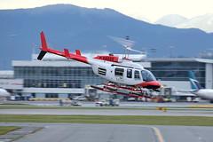 Chopper 9  C-FTHU (BC Photo OPS) Tags: yvr bell206 chopper9 cyvr