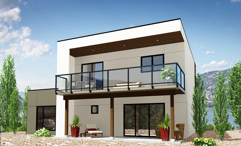 Vanner home rendering (back)