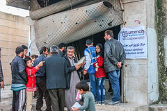 Supplying free bread to displaced families in Ariha, Idlib (Ummah Welfare Trust) Tags: poverty children war islam aid hunger arab syria humanitarian إدلب، سوريا‭‬