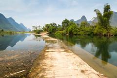 Yulong River Weir (Bridgetony) Tags: china asia southeastasia guilin yangshuo karst guanxi asiapacific