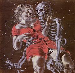 La jeune fille et la mort - 1978 - (STORMZORN) Tags: maiden madchen mortsqueletteskeletonfemmedame fillejeunewomannakedmementomorinuenude erosthanatosdansemacabrecadavercadavreznortcraneskull muertechica todtott tanzdellamorte