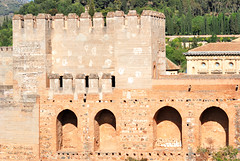 Granada. Alcazaba (vs1k. 1 000 000 visits, Thanks so much !) Tags: architecture spain andalucia alhambra granada alcazaba