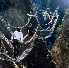 ... (anshanjohn) Tags: attractions claviere italy piedmont tibetanbridge