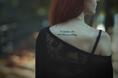 Veronica (Glynford Photography |Glen|) Tags: holliwood undead portrait fine art artistic mood drama samyang 85mm f14 quotes