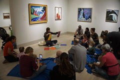 Art Babies, 2016.10 (Center for Creative Connections) Tags: dallasmuseumofart dma art babies sensory color play storytelling gallery studio baby