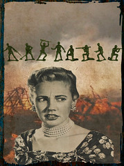 altered: games (hoolia14oh4) Tags: altered collage art war violence weapons guns toy soldiers militia women antiwar