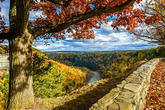 Letchworth in the Fall (Wonder Sighter) Tags: letchworth newyork statepark autumn fall geneseeriver