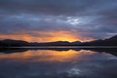 Loch Tulla ~ Glencoe  ~ Scotland (Margaret S.S) Tags: loch tulla glencoe scotland sunset reflections bridge orchy
