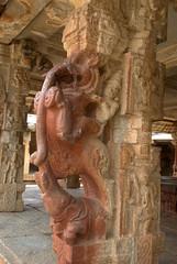 A rider on the mythical Yali (VinayakH) Tags: bhoganandeeshwaratemple karnataka india temple nandihills chikkaballapura chola ganga hoysala tipusultan religious historic