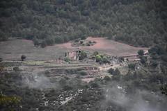 Masos de Galzeran, La Febr (esta_ahi) Tags: baixcamp masosdegalzeran ipa40008 lafebr tarragona spain espaa  paisatge paisaje landscape boira niebla