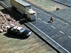Interstate results  2016 (THE RANGE PRODUCTIONS) Tags: toy truck semi bigrig hoscalefigures model motorcycle speccast tractortrailer trucksandstuff promotex cabover 187scale 164scale hoscale