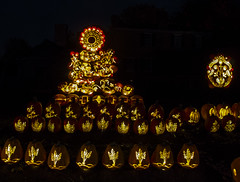 2016-010-14 029 Pumpkin Inferno (boozysmurf) Tags: pumpkininferno halloween uppercanadavillage longexposure canong12 pumpkins thisishalloween ontario