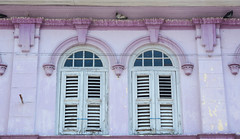 White wooden windows with the pink wall (phuong.sg@gmail.com) Tags: architecture asia asian beautiful building business city classic destination downtown george georgetown heritage historic historical history holiday house journey landmark lifestyle malaysia malaysian market old outdoor penang people retro road scene shop sightseeing street tour tourism tourist tower town traffic transport transportation travel trip urban vintage way