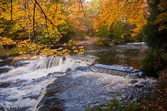 Above Bond Falls -7 (nikons4me) Tags: michigan mi bondfalls autumn fallcolor up upperpeninsula nikond300 sigmaaf1850mmf3556dc waterfalls
