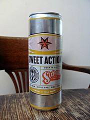 Sweet Action (knightbefore_99) Tags: beer cerveza pivo can tasty craft best usa hops malt drink barley sixpoint sweet action brooklyn ny