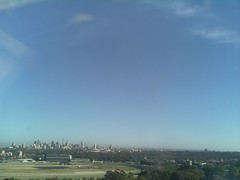 Sydney 2016 Oct 21 07:28 (ccrc_weather) Tags: ccrcweather weatherstation aws unsw kensington sydney australia automatic outdoor sky 2016 oct earlymorning