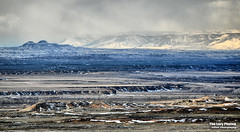 Nov 28 2016 - Squaw Teats and the Owl Mountains (lazy_photog) Tags: lazy photog elliott photography badlands big horn basin worland wyoming outlands mountains hills rocks red tailed hawks cuca pepper snow 112816outlandsbytheblmgravelpits