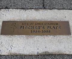 Shea Stadium Pitcher's Plate In Citi Field's Parking Lot; Queens, New York (hogophotoNY) Tags: shea sheastadium stadium gone newyorkmets queensny ny usa pitcher baseball oldbaseballstadium queensnewyork nikon nikonp900