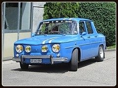 Renault 8 Gordini (v8dub) Tags: renault 8 gordini gord schweiz suisse switzerland french pkw voiture car wagen worldcars auto automobile automotive old oldtimer oldcar klassik classic collector