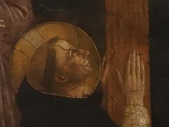 FRA ANGELICO,1440-45 - Le Calvaire (Louvre) - Detail 61 (L'art au prsent) Tags: art painter details dtail dtails detalles painting paintings peinture peintures 15th 15e peinture15e 15thcenturypaintings 15thcentury detailsofpainting detailsofpaintings fresque fresco moyenge middleage louvre guidodipietro fraangelico adoration worship bible croix cross prire prayer saint bless sacred holy blessed figure personne people femme femmes woman man men crucifixion calvaire montcalvary pain suffering giovannidafiesole fiesole giovanni
