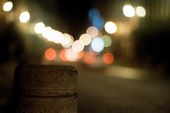 Lights over the street (AndreiSaade) Tags: rokkor md minolta film filmphotography x700 kodak proimage100 50mm 35mm keepthefilmalive classics analogic