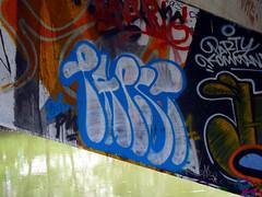 Graffiti in Wien/Vienna 2010 (kami68k -all over-) Tags: wien vienna 2010 legal halloffame graffiti throwup throw up papst