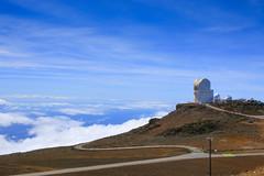 Science City, HI (milepost430media.com) Tags: telescope science technology white clouds sky volcano crater lava space exploration maui hawaii us usa research 70d dslr trave tourism sunny journey vacation haleakala wailea road