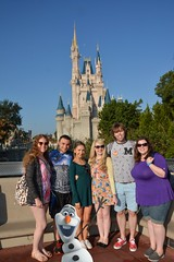 Magic Kingdom (Elysia in Wonderland) Tags: elysia florida orlando disney world 2016 holiday magic kingdom castle cinderella cinderellas becca clinton lucy pete amy