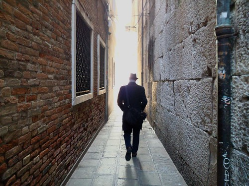 One Person Built Structure Brick Wall Full Length Rear View Architecture Walking Building Exterior Real People One Man Only People Men Adults Only Adult Outdoors Day Only Men