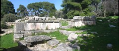 Temple of Hypnos at Epidauros sanctuary of Asclepios (Kevin J. Norman) Tags: greece peloponnese epidauros asclepios asklepios hypnos