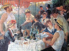 Luncheon of the Boating Party (pefkosmad) Tags: jigsaw puzzle hobby relaxation pastime leisure 1000pieces complete fineart art painting oldmaster renoir luncheonoftheboatingparty