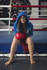 Illy Villa (elparison) Tags: boxeur boxe sportswoman tits downblouse green eyes beautiful beauty girl portrait ritratto