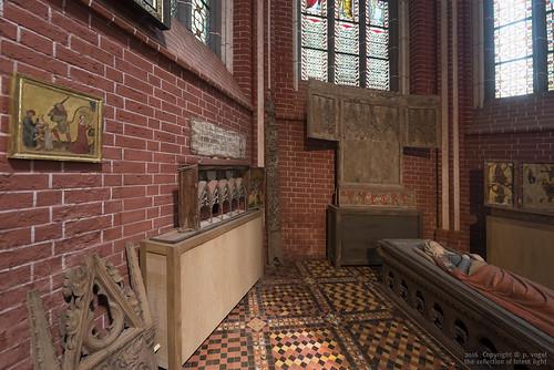 Doberaner Münster • Grabfigur der Königin Margarete von Dänemark