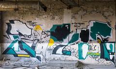 _DSC0953 (Under Color) Tags: leipzig graffiti lost places urban exploring leipsch walls