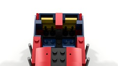 Cabin (JSDBanner) Tags: lego train modification instructions diesel white background brclass66 60098