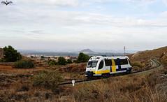 Pequeos Trenes Murcianos (I) (lagunadani) Tags: paisaje marmenor manga 2900 feve renfe 2906 mediterraneo murcia cartagena losnietos launion narrowgauge