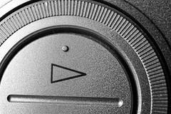 Arrow Theme HMM (Graham'M) Tags: macromondays macro arrow closeup dial blackandwhite vcr