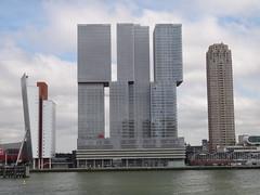 Rotterdam (Pit Spielmann) Tags: rotterdam erasmusbrug nhow hotel wilhelminapier maas new york