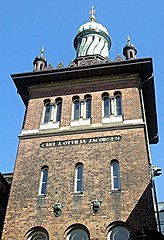 Swastikas at Carlsberg Brewery ((krungadoren)) Tags: carlsberg swastika architechture copenhagen 2010 tower