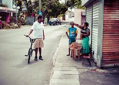 Lychee Seller (Sean Wells) Tags: mauritius eastafrica maurice street lychees bike seller