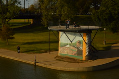 Along the Brazos (radargeek) Tags: waco tx texas downtown brazos river mural mlk martinlutherkingjr