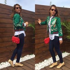 Hoy en el blog/ today on http://ift.tt/1gvvxOJ ~~Feliz noche de lunes! Toca descansar! Besos mil  #ootd #instamood #instalike #elblogdemonica #inspiration #instagood #instapic #instadaily #instalike #streetstyle @zaful #embroideredjacket #f (elblogdemonica) Tags: ifttt instagram elblogdemonica fashion moda mystyle sportlook springlooks streetstyle trendy tendencias tagsforlike happy looks miestilo modaespaola outfits basicos blogdemoda details detalles shoes zapatos pulseras collar bolso bag pants pantalones shirt camiseta jacket chaqueta hat sombrero