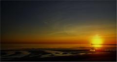 SUNSET (Blues Boy.) Tags: uk sussex littlehampton beach coast sunset