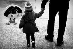 this little girl of mine (bostankorkulugu) Tags: child girl kid balloon greece macedonia makedonia timeless macedonian  thessaloniki salonica salonika hellas neaparalia paralia